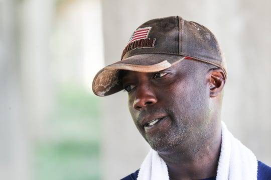 Retired Gunnery Sgt. Roy Wesley Brady, Jr., is walking across the United States to raise money and awareness for wounded vets, PTSD, prosthetic research and veteran suicide awareness.