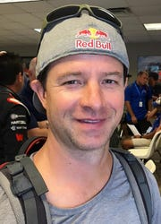 Red Bull Air Force team member Jon Devore.