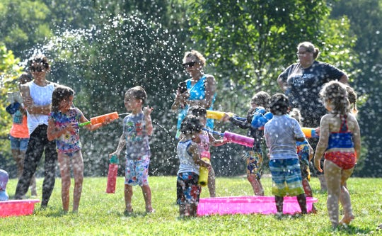 Bring kids for splashing fun to Water Day at Pinkerton Park July 24.