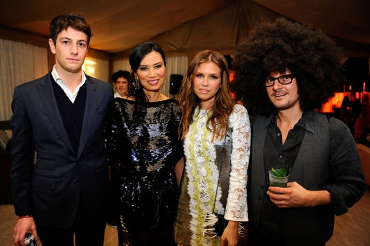 Louis Vuitton Presents Party For Art Sy Hosted By Carter Cleveland Wendi Murdoch Dasha Zhukova
