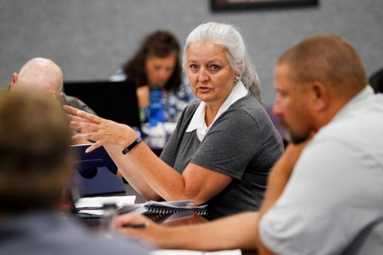 Aztec Finance Director Kathy Lamb is pictured in 2018.