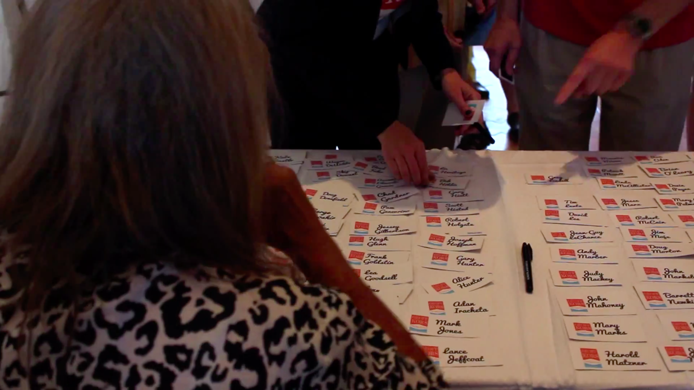 Sign-In Table at the home of Geoff Kors and James Williamson from Geoff Kors 2015 City Council Campaign Video