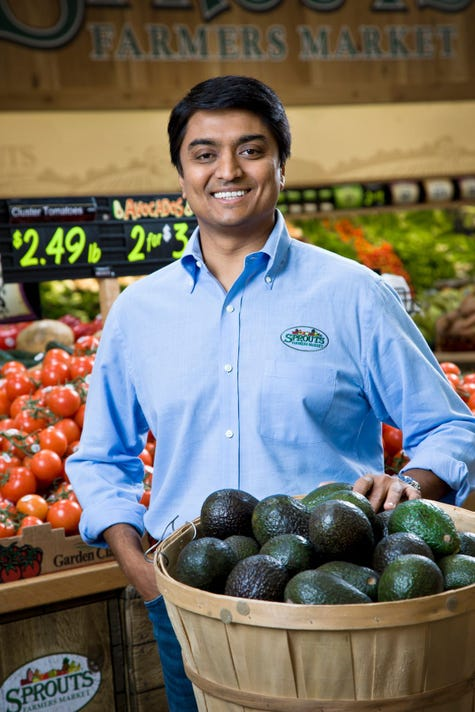 Sprouts Farmers Market Inc.'s Amin Maredia