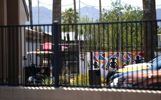 Exterior of Southwest Key in Tucson, on June 20, 2018. Southwest Key, a non-profit agency,  runs shelters for immigrant children.