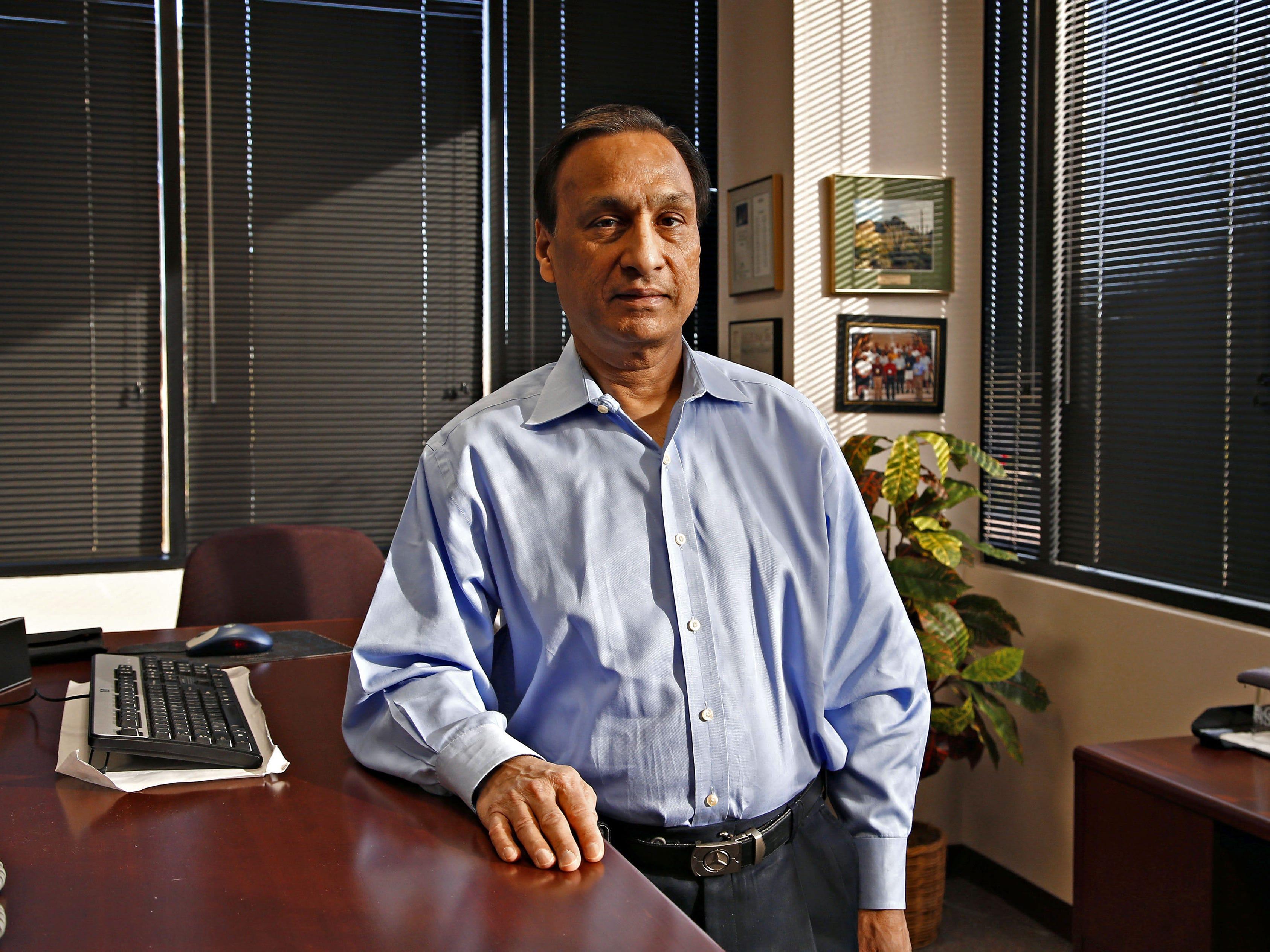 Microchip Technology Inc.'s Steve Sanghi: Summary compensation: $7,893,460. Adjusted compensation: $13,739,262. TTM profit: $255 million. TTM revenue: $4 billion. 2017 stock: 39.3 percent. Capitalization: $22.1 billion.