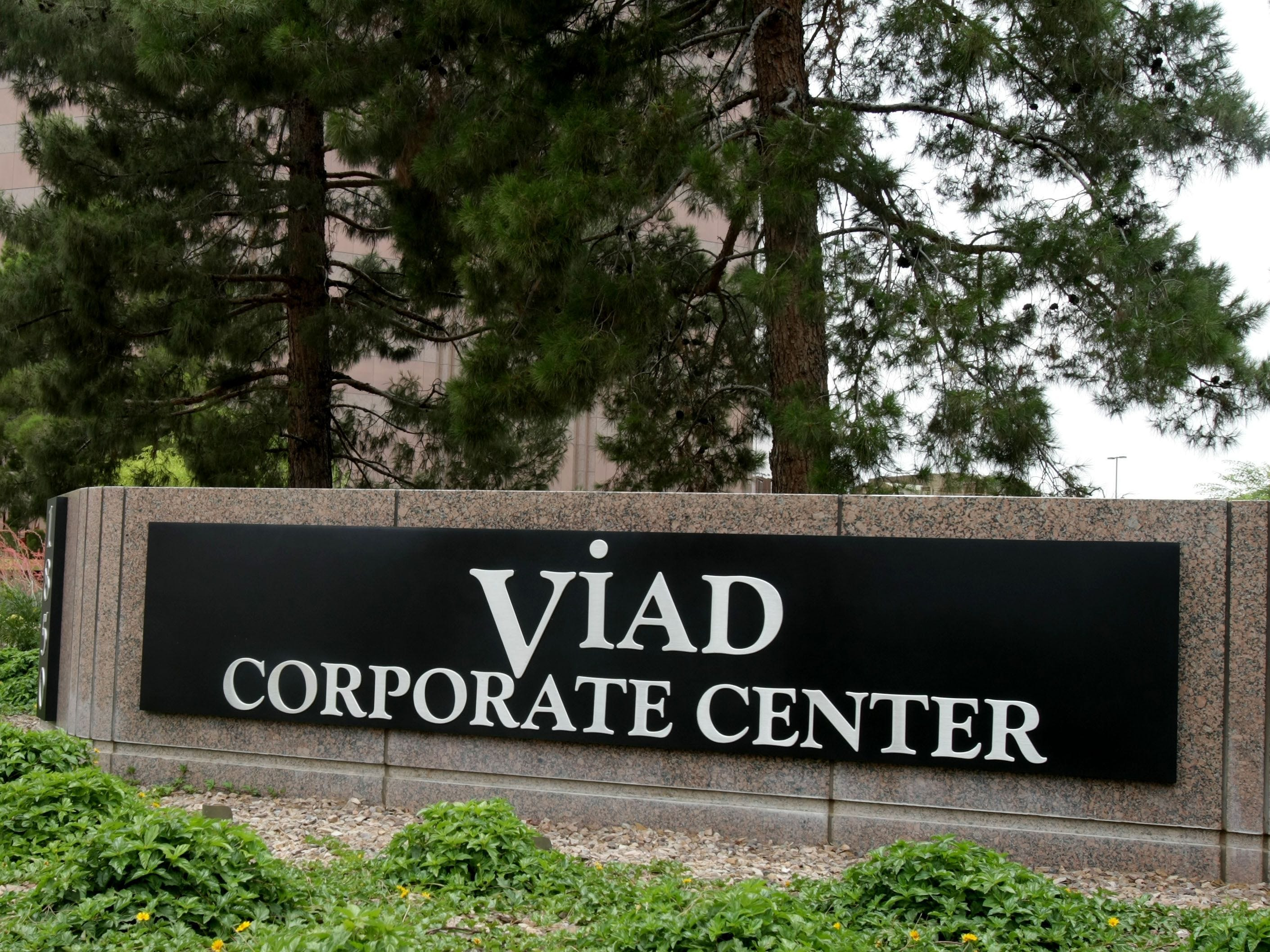 Viad Corp.'s Steven Moster: Summary compensation: $3,409,980. Adjusted compensation: $3,003,817. TTM profit: 	$41 million. TTM revenue: $1.3 billion. 2017 stock: 26.5 percent. Capitalization: $1.2 billion.