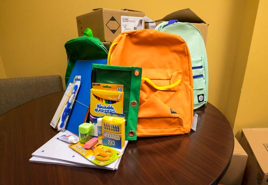 Blue Water Community Action is gearing up for its annual backpack giveaway. The organization usually gives away between 1,500 and 2,000 backpacks full of school supplies to students in St. Clair County.