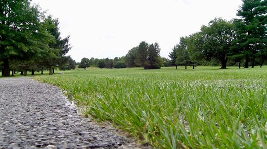 Briarwood Golf Club is open, but golf cart use is restricted to the asphalt path.