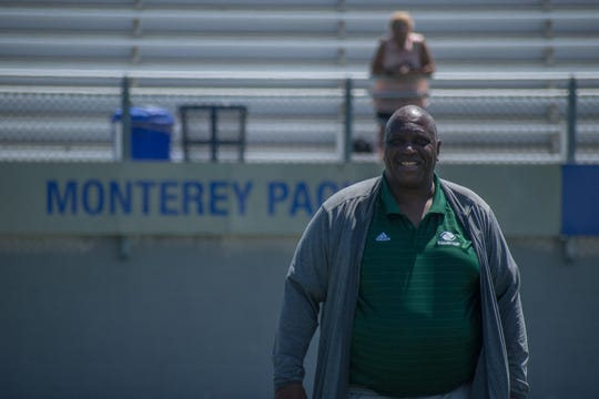 """Anthony Toney first started holding camps for kids during his NFL career in the late 1980s. It's important to him for the camps to be free so """"every kid can come out here and have the opportunity to learn,"""" he said."""
