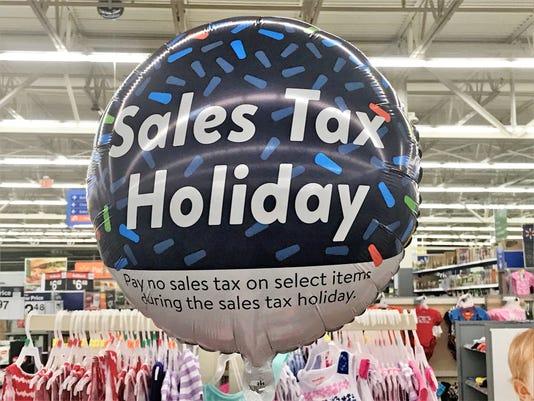 Sales tax balloon