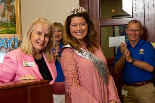 Anna Valencia Tillery was crowned Ms. Centennial by council member Laura Moss.