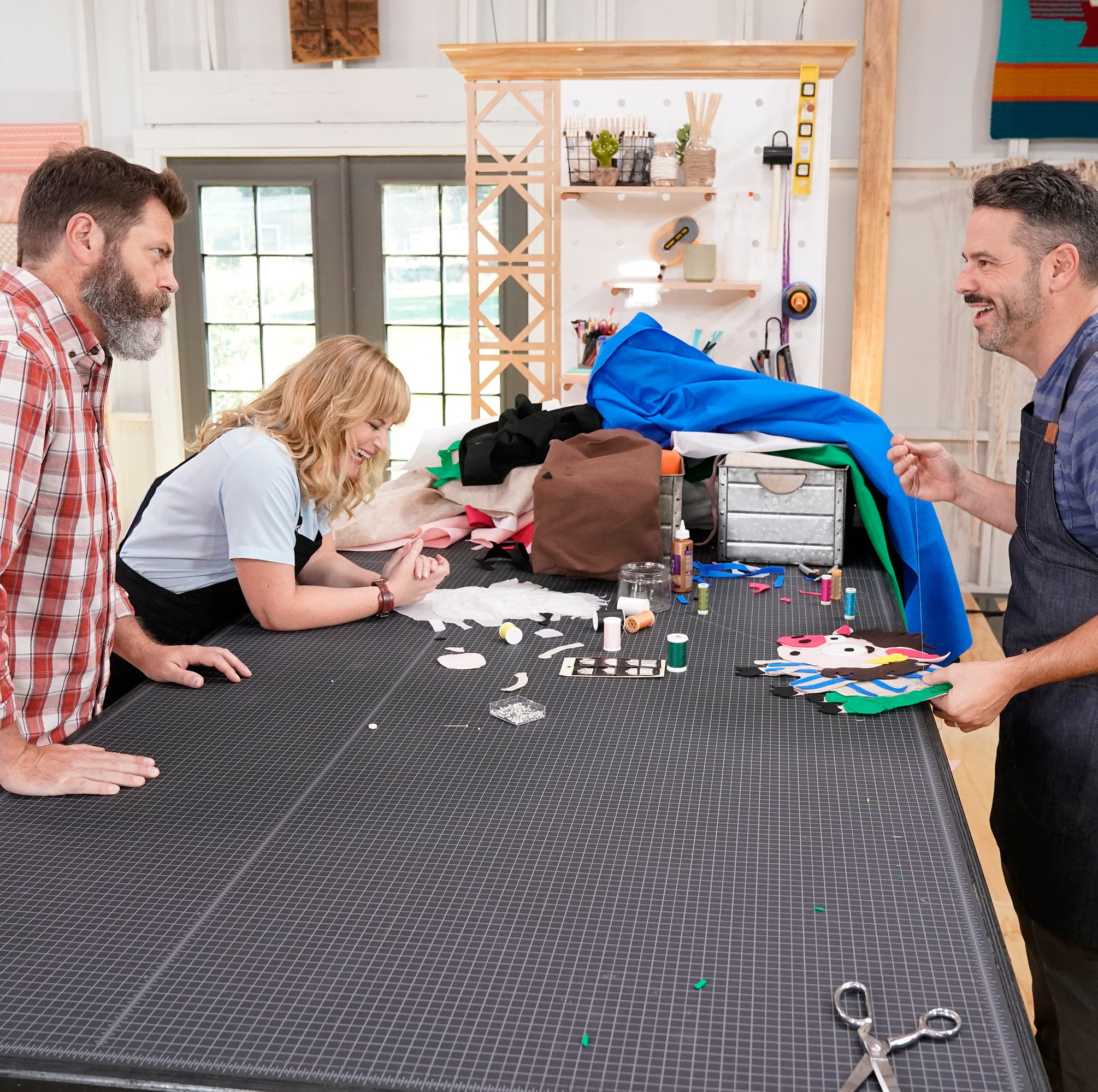 Parents compete on new crafting show 'Making It'