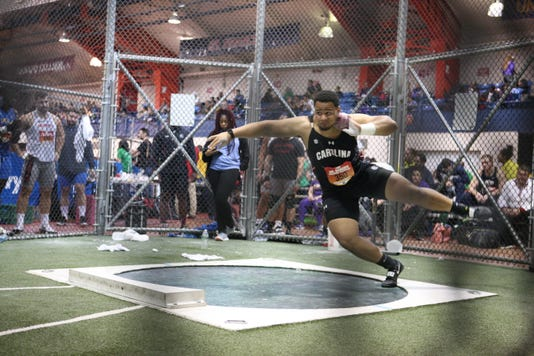 Eric Favors Shot Put