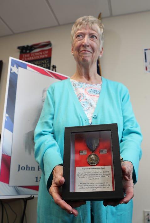 Civil War Medal John F Pratt