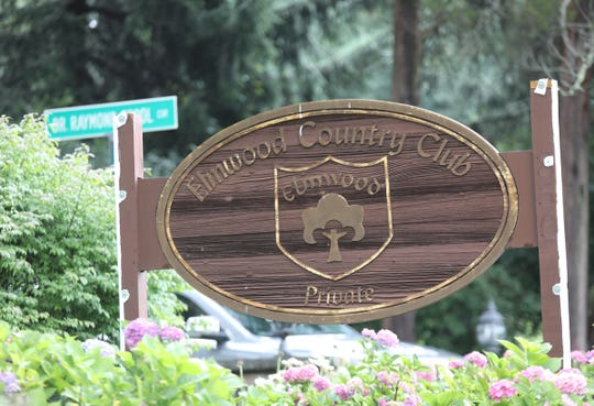 The sign at the entrance of the former Elmwood Country Club in Greenburgh on Wednesday, July 25, 2018.
