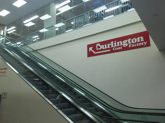 Escalator to the Burlington Coat Factory in White Plains