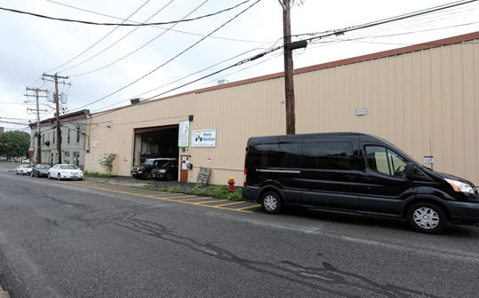 A project in the planning stages would turn the 149 Burd Street warehouse that is now home to party supplier ABC Fabulous Events into apartments called The Vue at Nyack July 25, 2018.