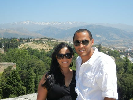 After Hala graduates from her residency and before beginning their IVF cycle at Colorado Center for Reproductive Medicine, she and Mohamed take a vacation to Spain to reconnect.