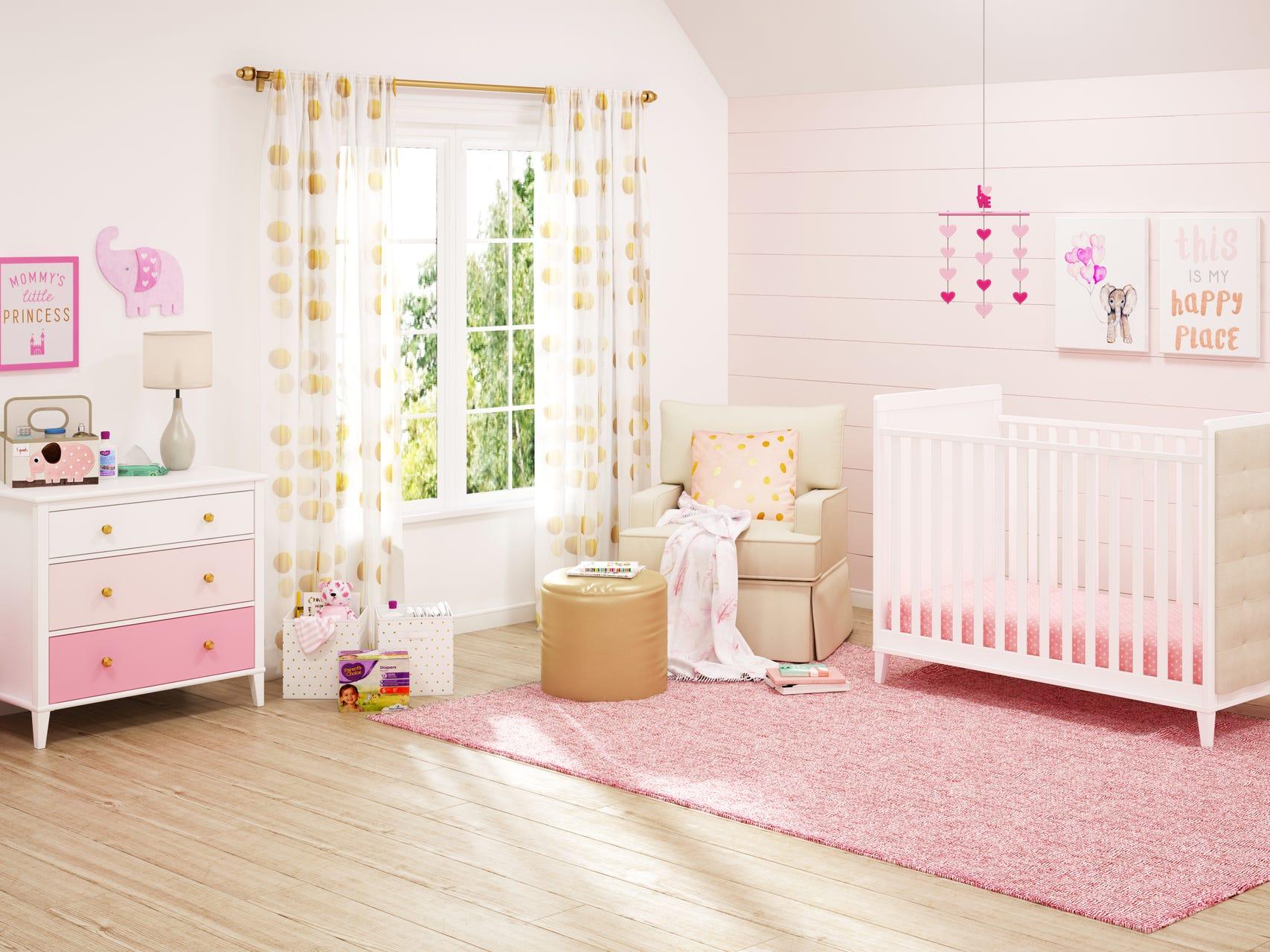 Classic Pink Nursery