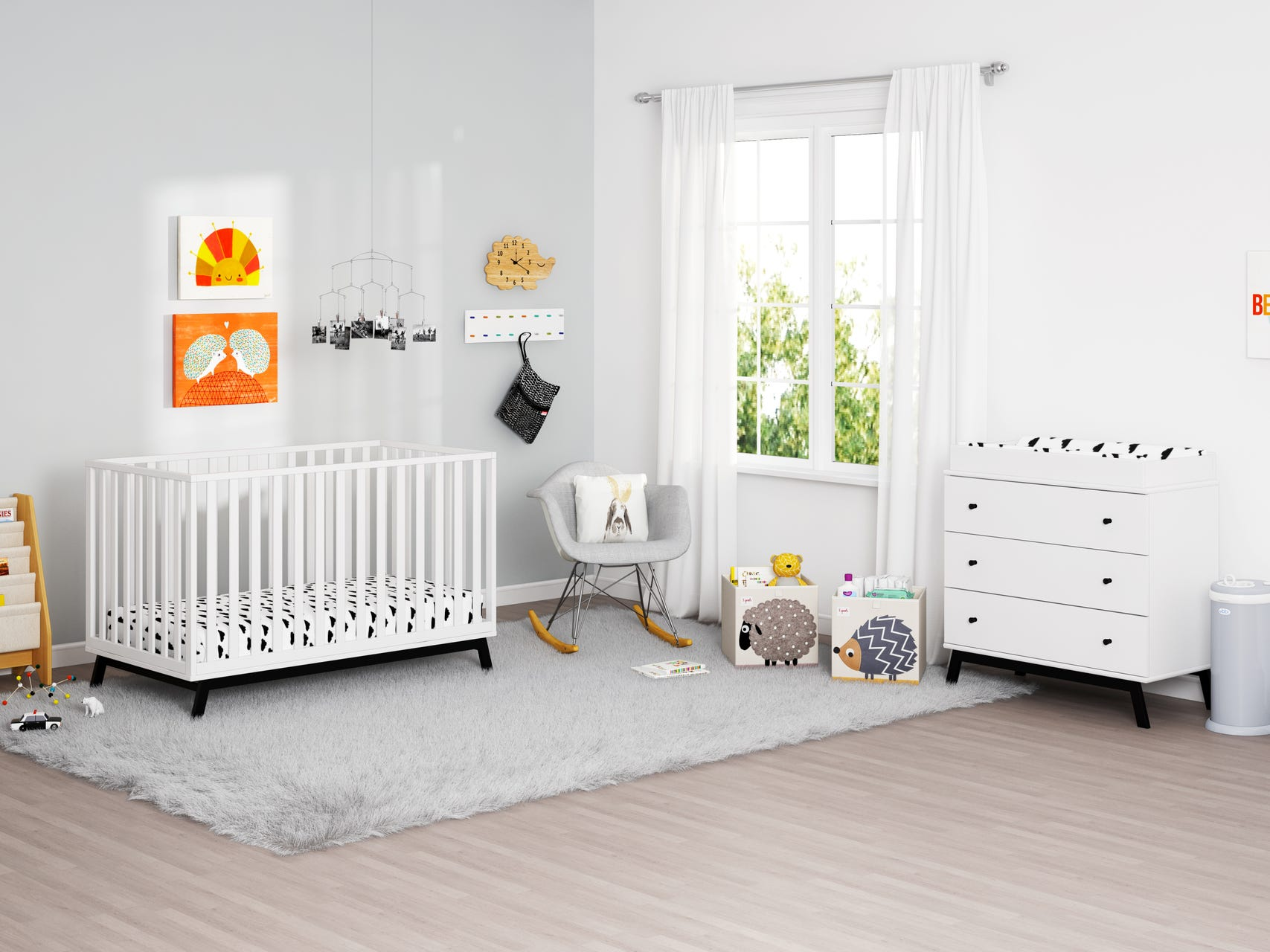 Mid Century Nursery