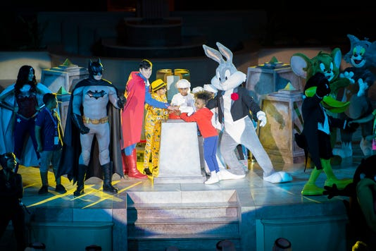 Warner Bros World Abu Dhabi Grand Opening