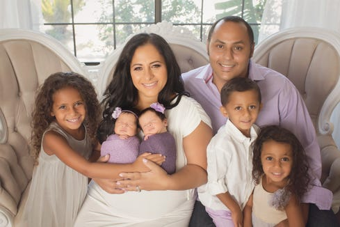 From infertility to five kids: One mom's uplifting IVF success story