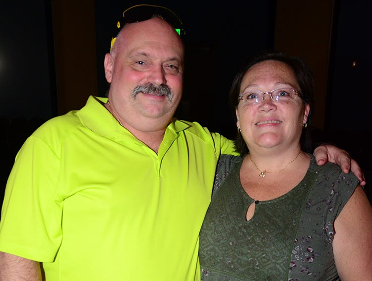 Curtis and Nancy Larkins were in attendance Saturday evening for the SPCA benefit called Men on Fire which was to raise money for the homeless animals in their care.