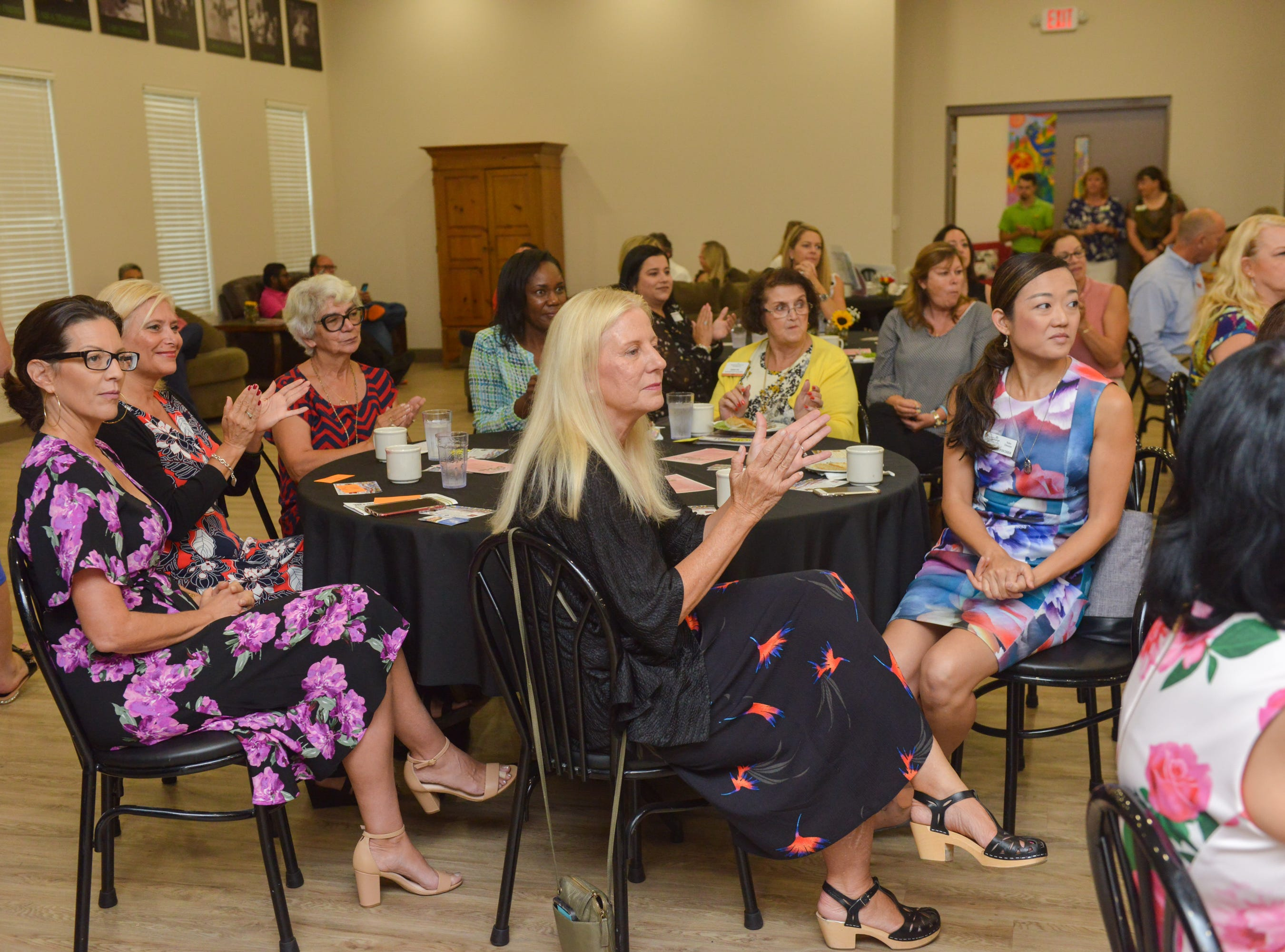 The Women of Excellence Gathering at Promise in Brevard sponsored by the Melbourne Regional Chamber.