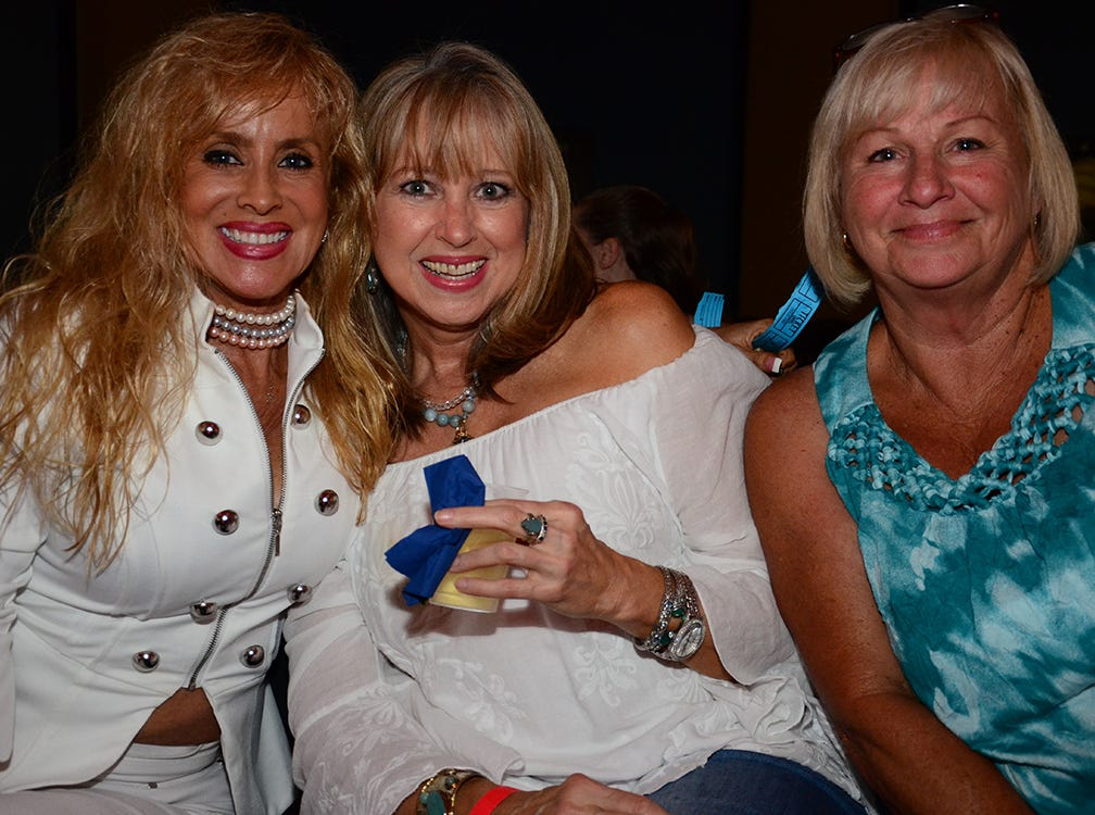 The Men on Fire event brought good friends together Saturday evening. Shari Shy, Cheryl Olsen, and Patty Hobbs attended.