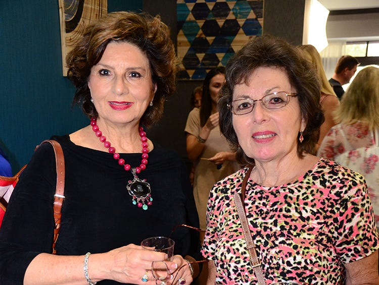 Judith Gendron and Carol McGiveney attended the Men on Fire SPCA benefit held at the Holiday Inn, Viera.