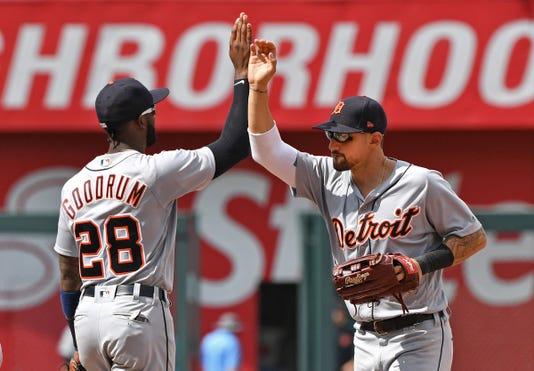 Mlb Detroit Tigers At Kansas City Royals