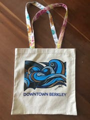 Custom shopping bag for Downtown Berkley.