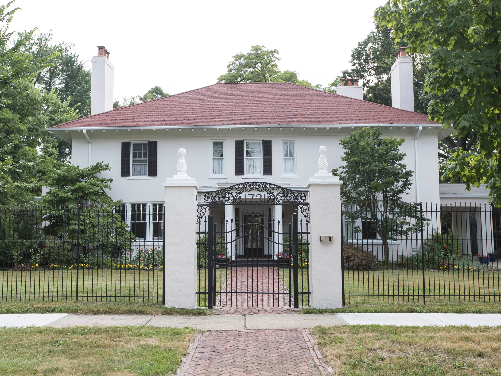 Musician Jack White is among former owners of this Indian Village home. It was designed by C. Howard Crane, who designed other grand homes as well as the Fox Theatre, Orchestra Hall and the Fillmore Detroit.