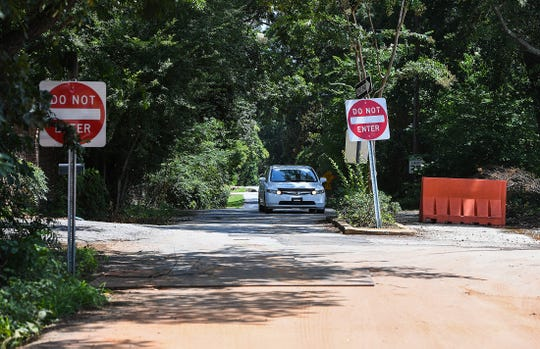 McPherson Lane off Augusta Road in Greenville Thursday, July 26, 2018.