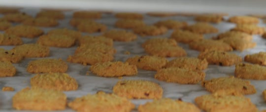 Savory asiago crackers are made at Cat Island Cookie and Cracker in Pass Christian.