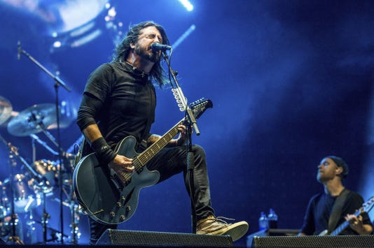 Dave Grohl Foo Fighters Ruoff