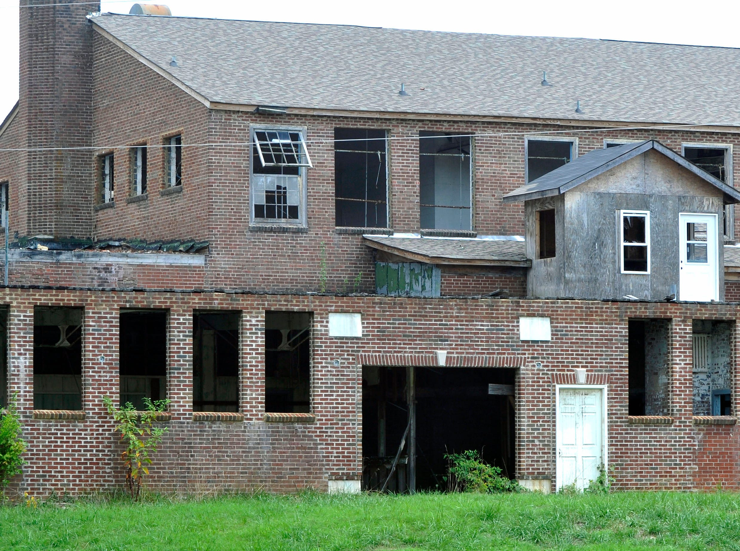 Old South High School is included on the 2013 Knox Heritage list of the most endangered historic buildings and places in Knoxville and Knox County. Designed by noted architect Charles Barber and opened in 1937 as South Knoxville Junior High School, the school was auctioned by Knox County in 2008 to Bahman Kasraei. The building has since deteriorated to the point that the City of Knoxville secured the property through its Demolition by Neglect powers. Knox Heritage is calling upon the owner to restore the property immediately or sell it to a new owner with the ability to do so.