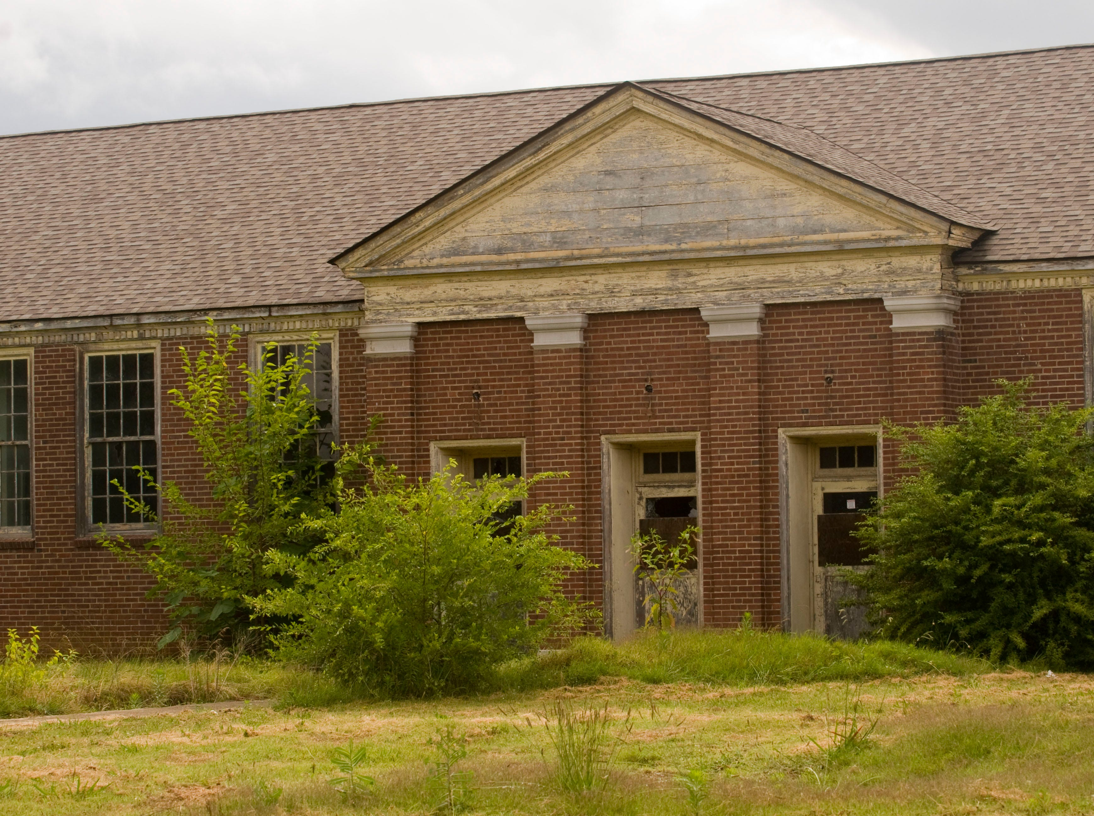 The city's list of blighted properties includes old South High School.