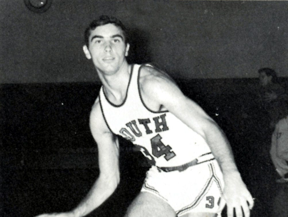 A South High School basketball player in an undated photo.