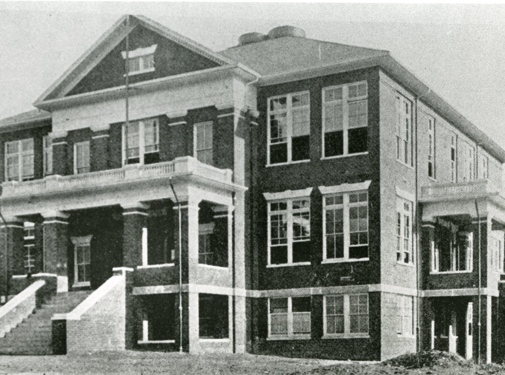 "Young High School, ""fifty years ago"". June, 1963."
