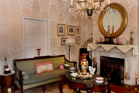 A look at the decor inside the Estorge House.