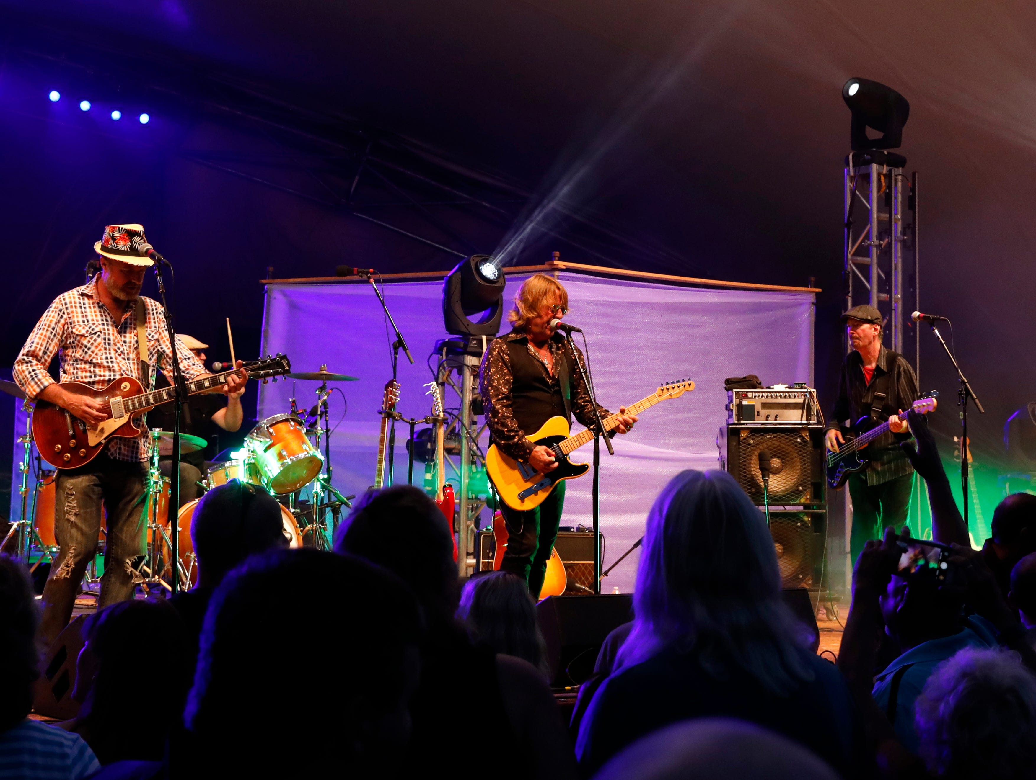 Full Moon Fever, a Tom Petty tribute band, performed Wednesday night, July 25, 2018, at the Ohio University Lancaster Wendel Concert Stage as part of the Lancaster Festival.
