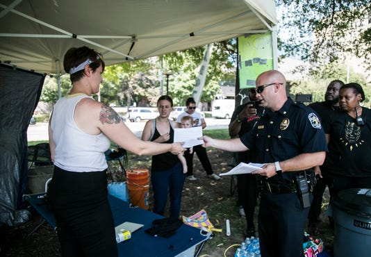 Lmpd Issues Warning To Occupy Ice