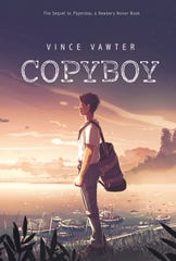 "The cover of ""Copyboy,"" with art by Alessia Trunfio."