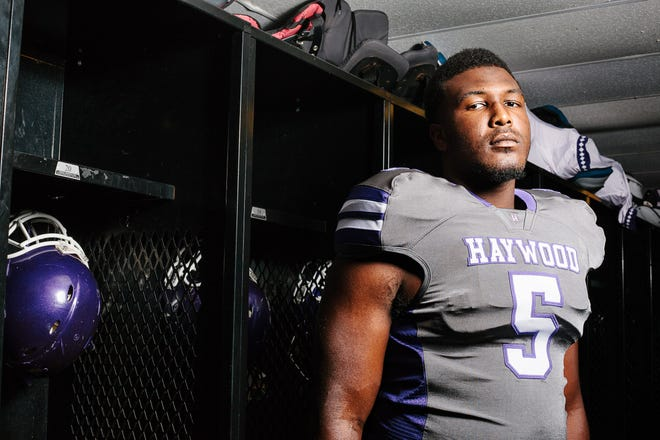 Haywood senior Emmit Gooden is a two-time All-West Tennessee first-teamer on the defensive line. Haywwod's Emmit Gooden, Super Senior