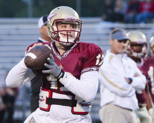 Former Riverdale quarterback Brandon Bea