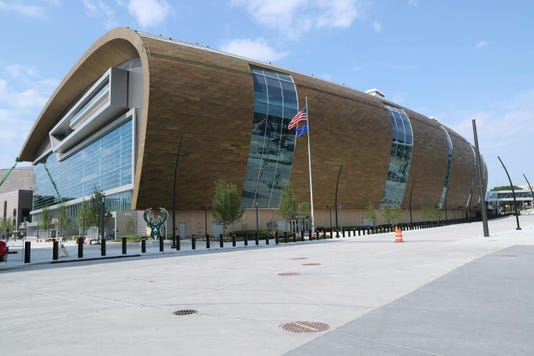Milwaukee Bucks arena name will be Fiserv Forum