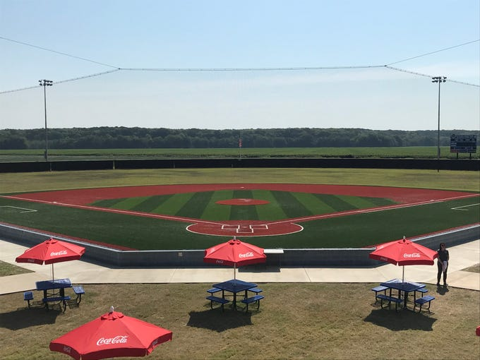 The Sterlington Sports Complex celebrated the completion of major Phase 1 construction on Thursday.