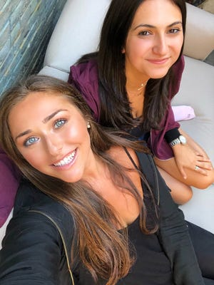 Emma Diamond (left) and Julie Kramer (right), the creators of the popular Instagram account Comments By Celebs
