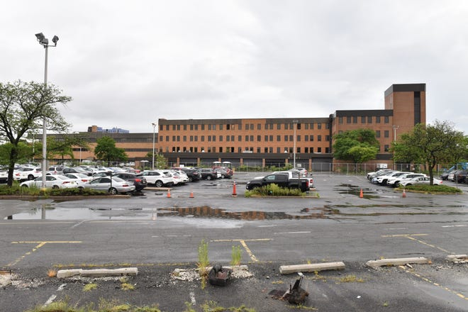The Record's former building is set to be demolished after asbestos remediation at 150 River Street in Hackensack on Wednesday July 25, 2018.